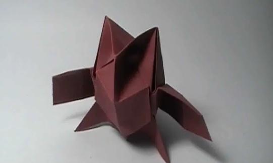 Видео сова оригами