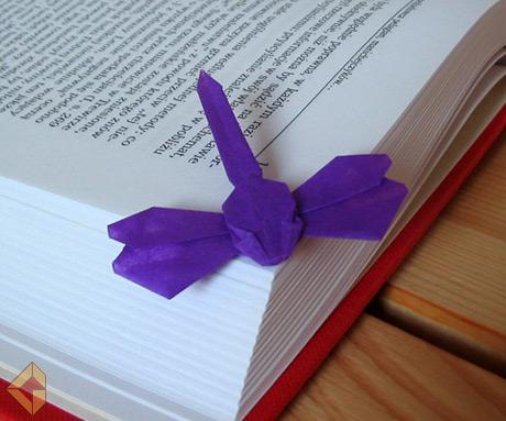 Еще одна оригами закладка была
