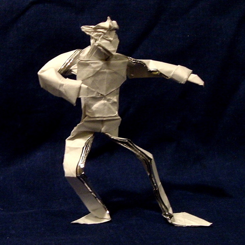 Оригами человек от Джейсона Ку
