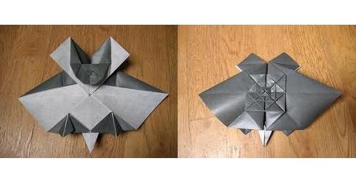 Оригами тесселяции очень