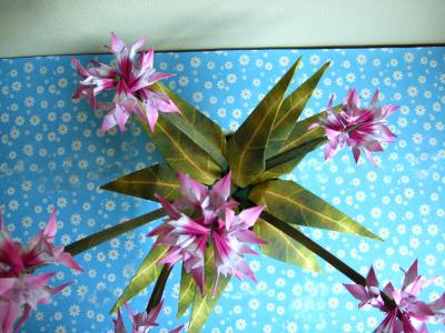 Оригами схема цветов