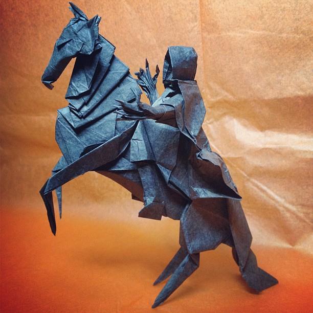 Схема оригами Назгула