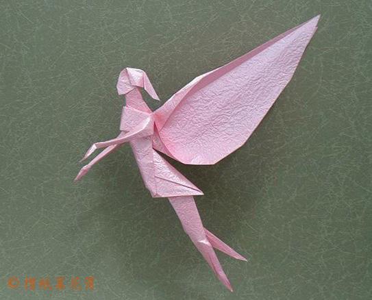 Оригами схема феи