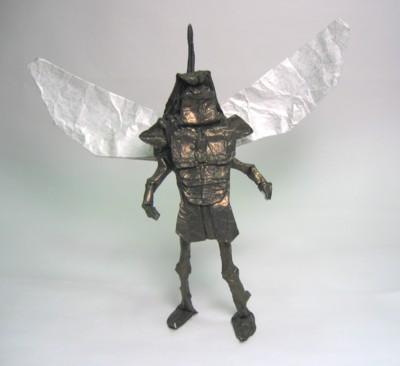 Оригами схема крылатого воина