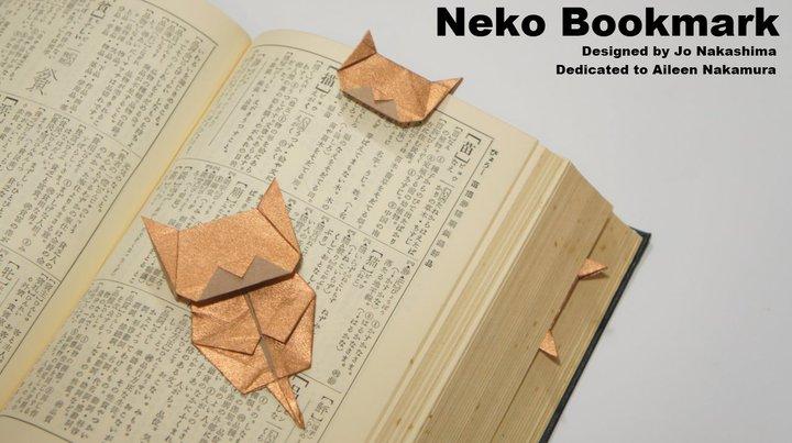 Закладка котенок Neko
