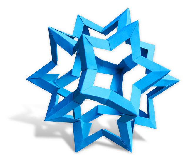 Модульное оригами позволяет