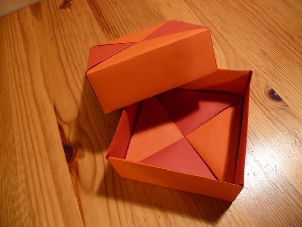 В оригами коробочках приятно