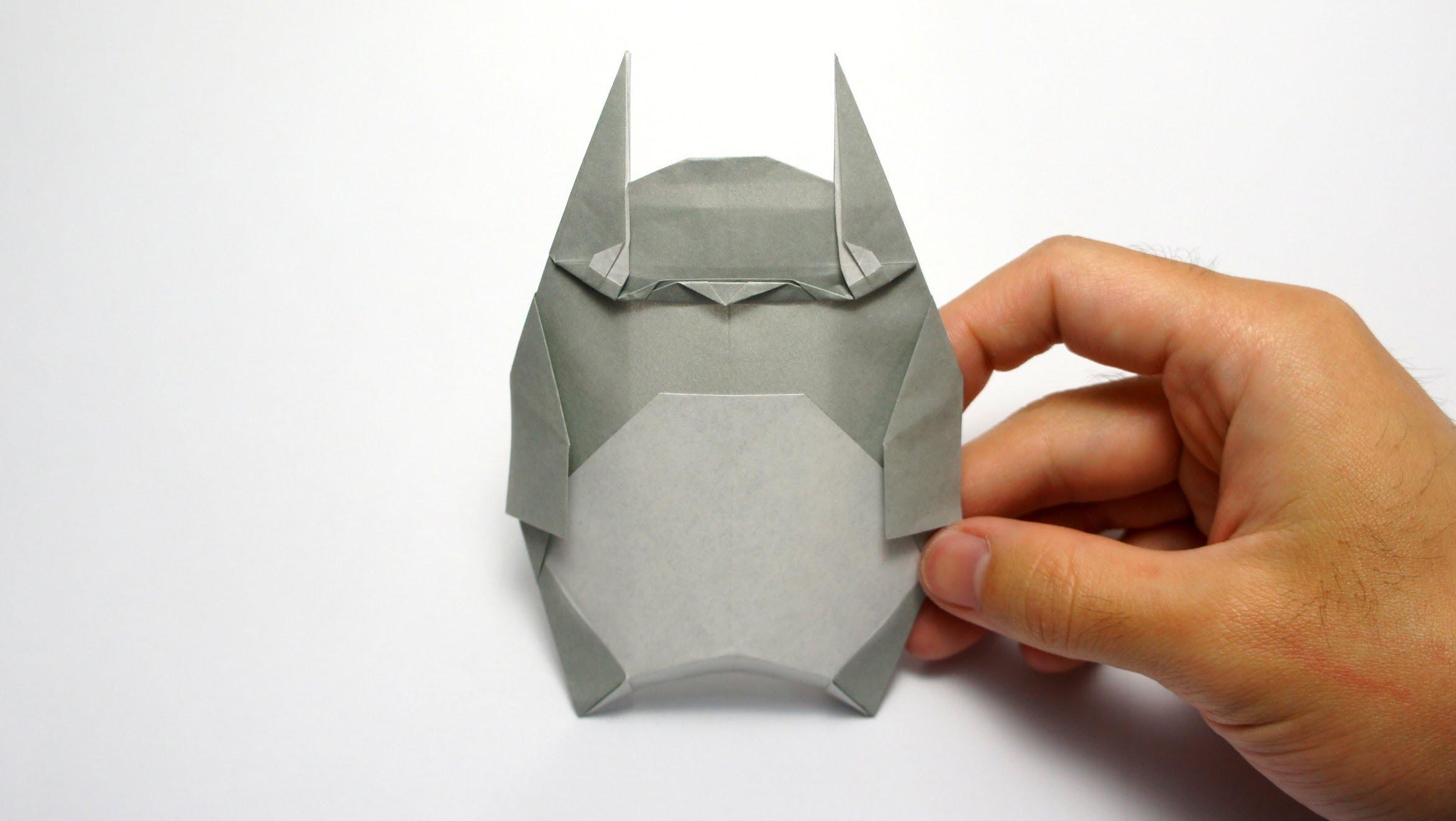 Оригами Тоторо. Схема оригами Тоторо.