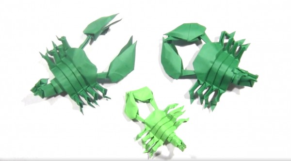 Оригами скорпионы из южных пустынь. Как сложить оригами скорпиона?