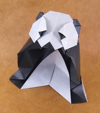 Схема оригами панды