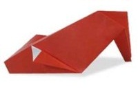 Оригами схема туфель