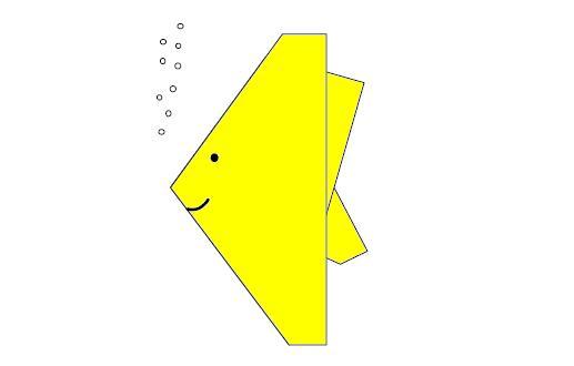Оригами схема простой золотой